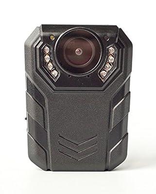 PatrolEyes HD Ultra 64GB 1296p Wide Angle Ultra Police Infrared IR Security Body Waterproof Camera SC-DV7
