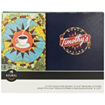 Timothy's World Coffee 74-01120 Rainforest Espresso K-cups, Extra Bold, 96-Count