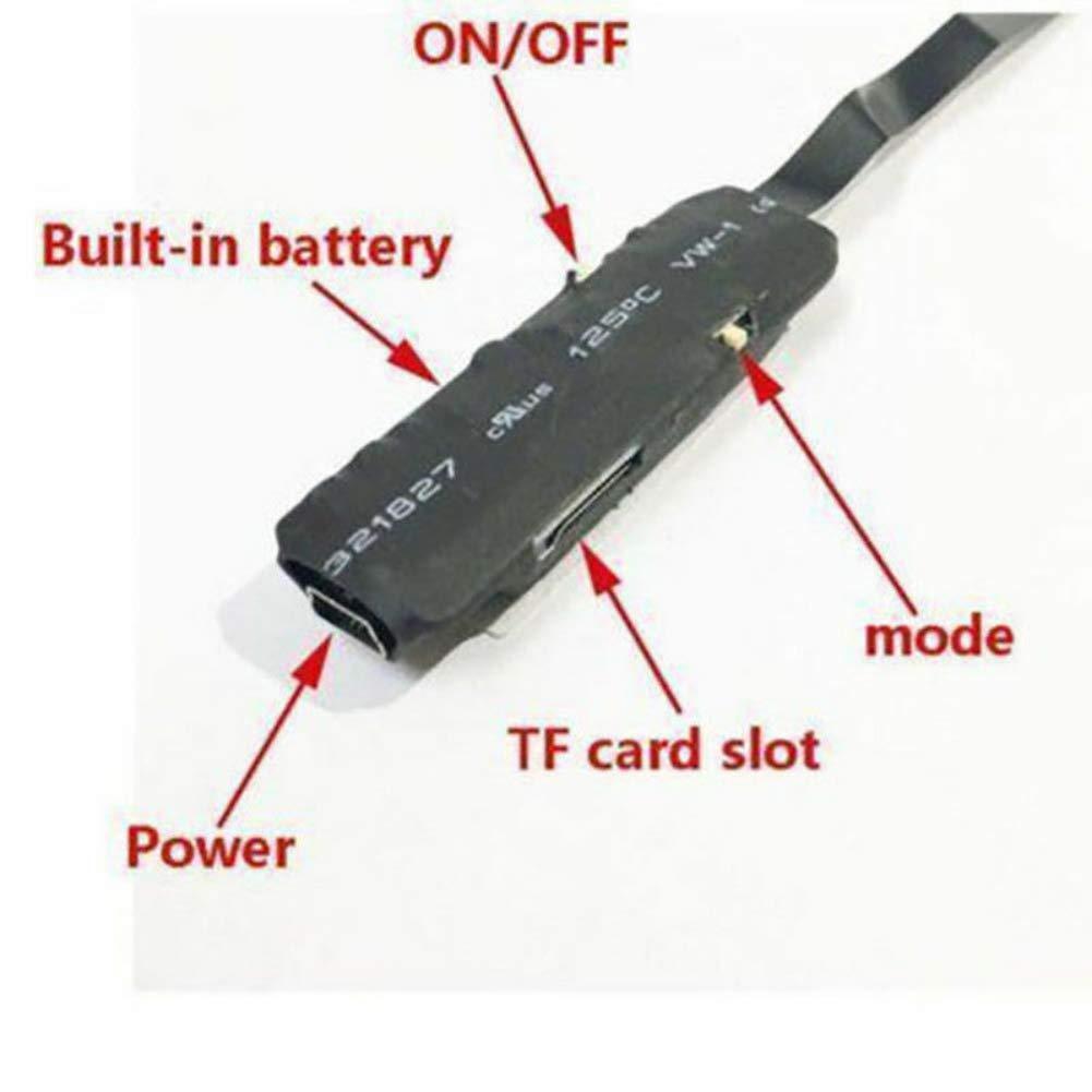 HD 1080P Mini c/ámara Oculta esp/ía Ohhome ABS inal/ámbrico WiFi IP Seguridad para el hogar DVR Visi/ón Nocturna remota