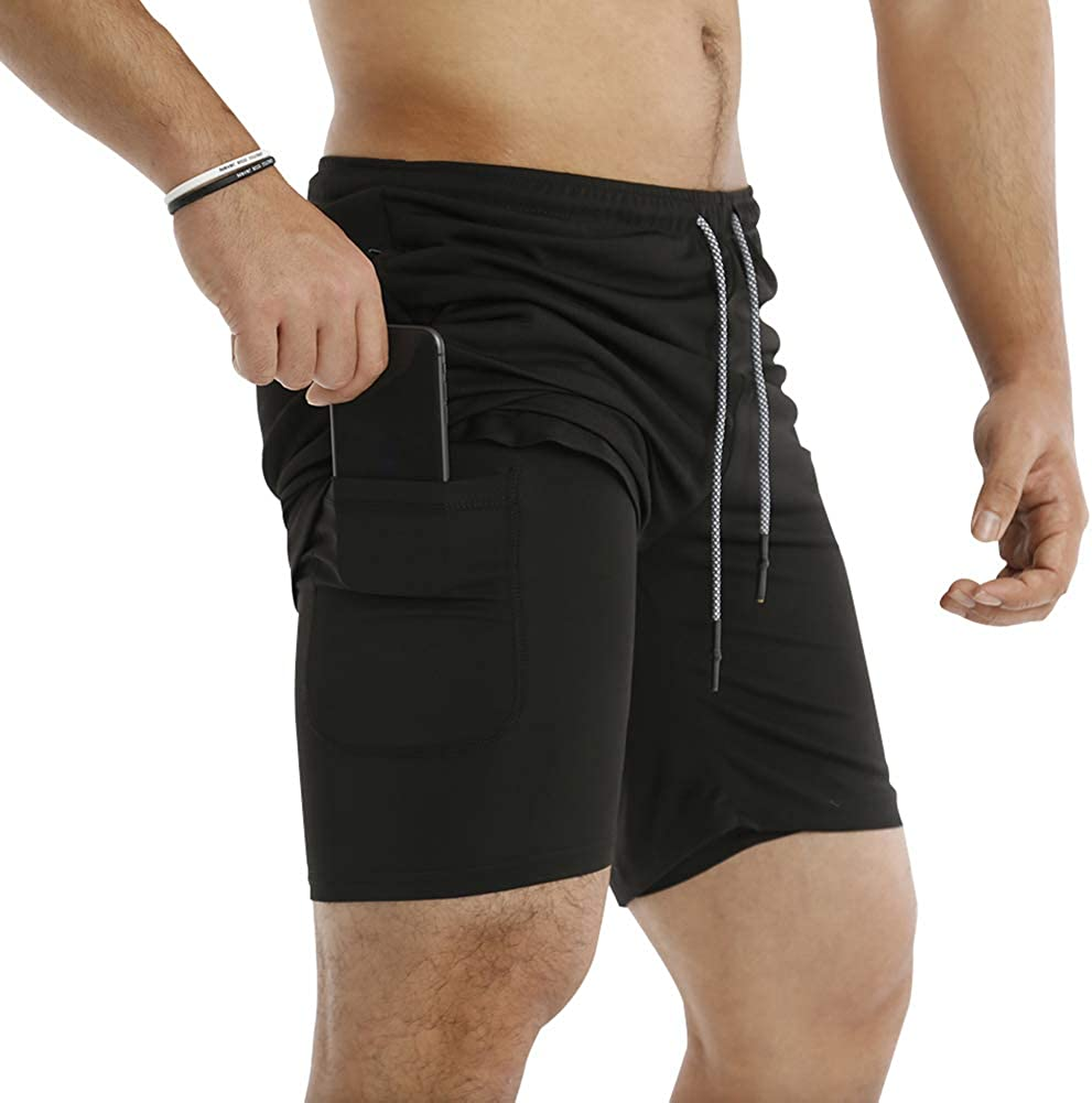 Hollywood Star Fashion Color Block Workout Sport Wear Shorts