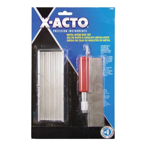 Xacto X75320 Small Mitre Box Set (Razor Miter Saw)
