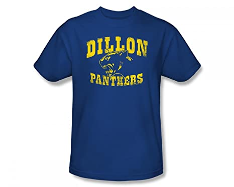 8cc7722009026 Friday Night Lights - Dillon Panthers Slim Fit Adult T-Shirt In Royal