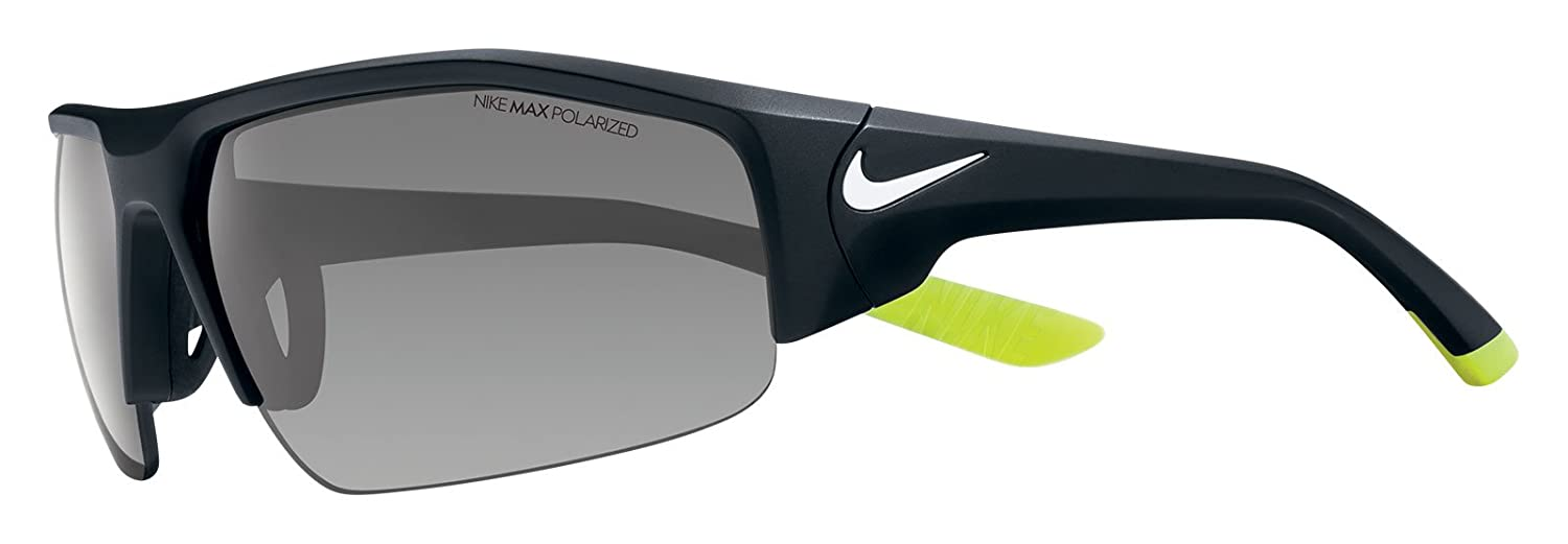 7996e2db65bc Amazon.com: Nike EV0860-017 Skylon Ace XV P Sunglasses (One Size), Matte  Black/White, Grey Polarized Lens: Sports & Outdoors