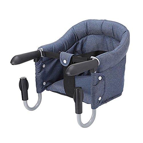 Vertvie Marineblau Tischsitz Kindertisch Stühle Baby Stühle Kinder Esstisch und Stühle tragbaren Klapptisch Stuhl
