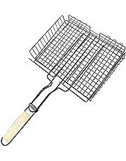 puseky Grillkorg utomhus grill grill nät bärbart grillverktyg för grillning fisk grönsaksbiff