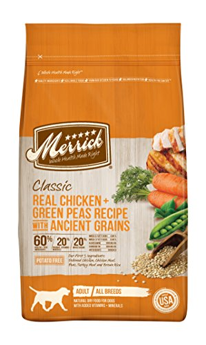 Merrick Dry Dog Food with added Vitamins & Minerals for All Breeds, (Chicken Dog Vitamins)