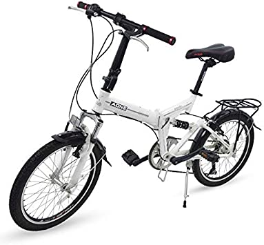 Grupo K-2 Riscko - Bicicleta Plegable Urbana | Cambios Shimano | Bicicleta Plagable con Amortiguador | Modelo bep-34 | Adulto de 20 Color: Rojo: Amazon.es: Deportes y aire libre
