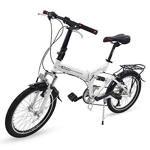 Grupo K-2 Bicicleta Plegable con Amortiguador Bep-34 Negro
