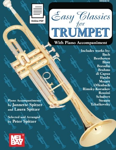 Easy Classics for Trumpet: With Piano Accompaniment ebook