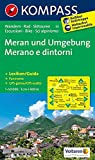 Meran und Umgebung/Merano e dintorni: Wanderkarte mit Kurzführer, Radrouten und alpinen Skirouten. Dt./Ital. GPS-genau. 1:50000 (KOMPASS-Wanderkarten, Band 53)