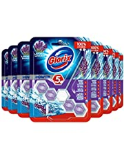 Glorix Power-5 Toiletblok Lavendel - 9 stuks - Multipack