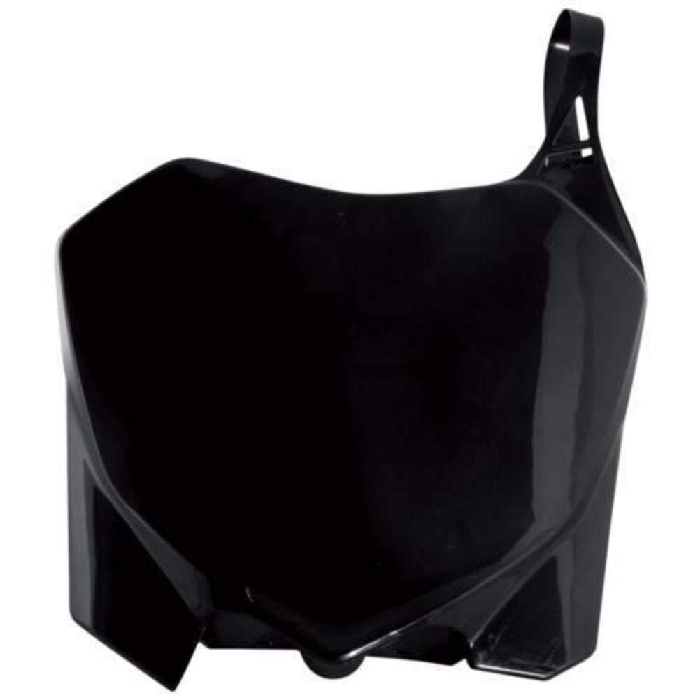 Acerbis Front Number Plate 14-19 KAWASAKI KX85 BLACK
