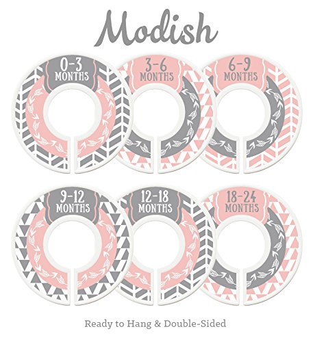Modish Labels Baby Nursery Closet Dividers and Organizers
