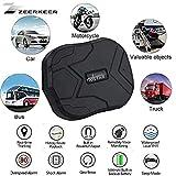 ZEERKEER GPS Tracker Real-time Tracking Positioning Double Mode GSSM/GPS Locating Device Car Rental, Truck, Motorbike Freezer, Boat, etc.