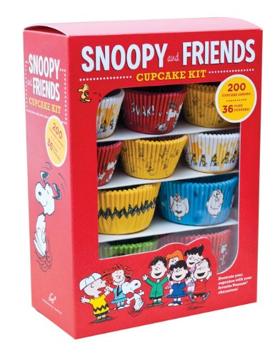 Snoopy and Friends Cupcake Kit: Decorate Your Cupcakes