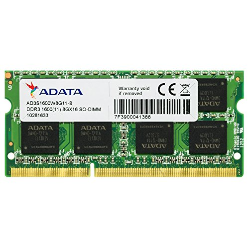 Data Module 4 (ADATA Premier Pro DDR3 1600MHz 8GB Memory Modules (AD3S1600W8G11-R))