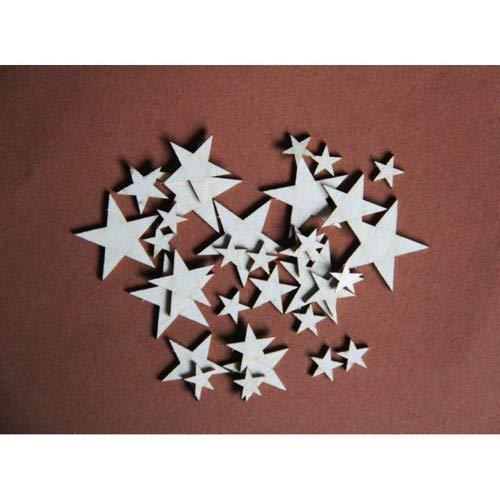 Filigranki Laser Cut Decorative Chipboards for Handicraft- Stars