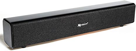 ZWMM Altavoces Ordenador,Barra Sonido Pc Altavoz de TV Bluetooth 4.0 Viruta Auto del Sueño 2 Modos De Sonido Estéreo 3D Totalmente Compatible con El Sistema NE/Android/Apple: Amazon.es: Deportes y aire libre