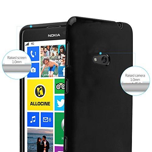 Cadorabo - Cubierta protectora para >                                  Nokia Lumia 625                                  < de silicona TPU en Diseño Jelly