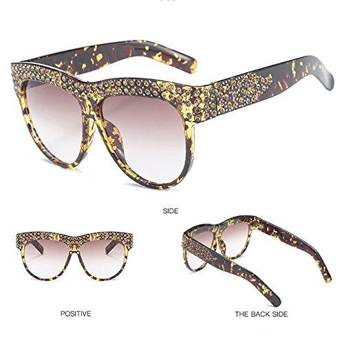UV De Libre Sol De Gold De Gafas De Al Gafas Viaje De De Sol Playa Gafas Mujer Protección para Sol Aire White Ivwf6