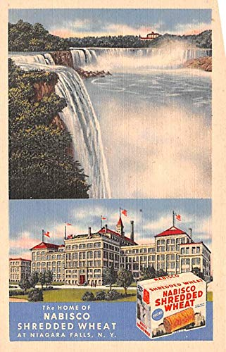 Advertising Post Card Nabisco Shredded Wheat Niagra Falls, NY USA Unused