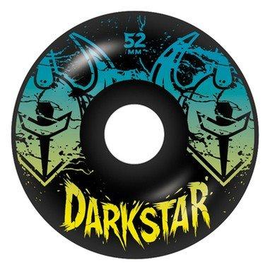 Darkstar Drench Skateboard Wheel, Black, 52mm