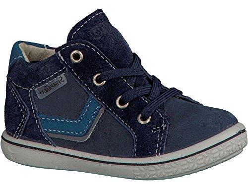 Ricosta Jungen Kim Hohe Sneaker Blau (Nautic)