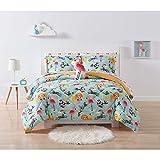 Laura Hart Kids Comforter Set, Full/Queen, Party Animals