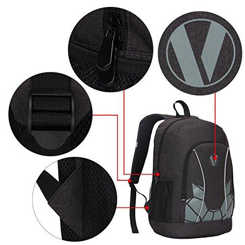 Veegul Luminous School Backpack Teens Glow Bookbag Boys Girls ... 88774c190d