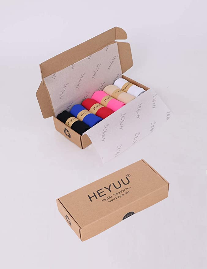 f79c80fc5b HeyUU Womens Invisible Seamless Bikini Panties Pack of 6 Colors at Amazon  Women s Clothing store