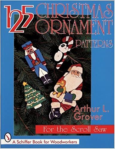 40 Christmas Ornament Patterns for the Scroll Saw Schiffer Book Extraordinary Christmas Scroll Saw Patterns