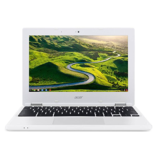 Acer Chromebook CB3-131-C3SZ 11.6-Inch Laptop (Intel Celeron N2840 Dual-Core Processor,2 GB RAM,16 GB Solid State Drive,Chrome), White(Certified Refurbished)