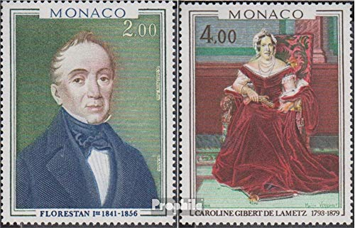 - Monaco 1356-1357 (Complete.Issue.) 1978 Paintings (Stamps for Collectors) Painting