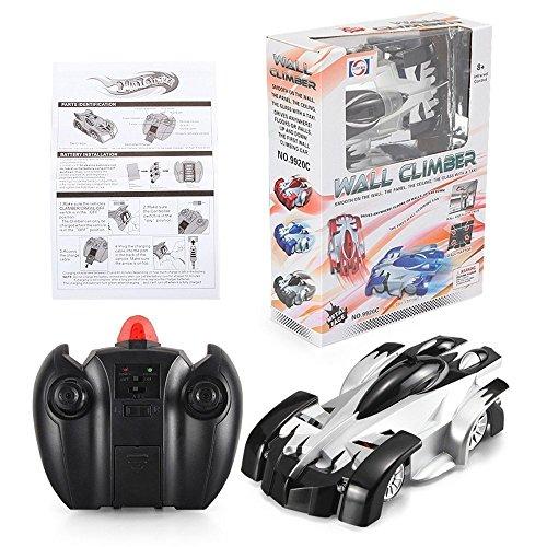 SZJJX Climbing RC Car Home Vehicle Radio Control Mini Gravity Remote Control Car Kids Electric Toy RC Vehicle Stunt Car-Black