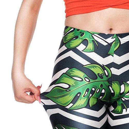 Yoga Verde a Abbigliamento Styledresser yoga Plus Leggings Sportivo Donna Yoga Fitness Donne Leggings Da Pantaloni allenamento jogging Alta Vita qq7TFr