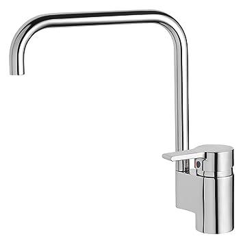 Ideal Standard B8084AA Küchenarmatur Active schwenkbarer Rohrauslauf ...