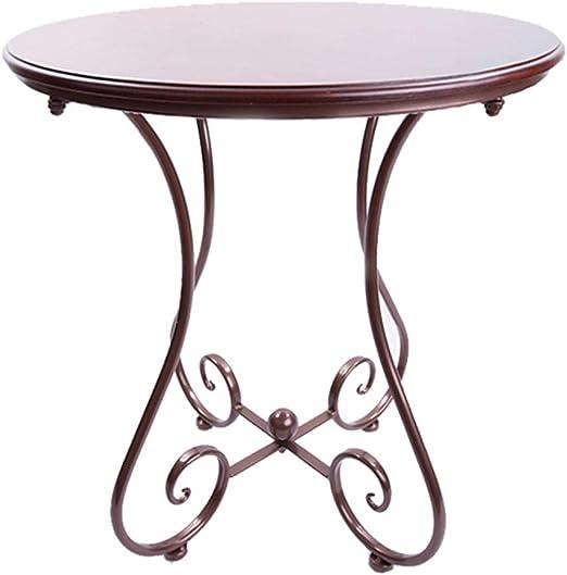 Table Mesa - Mesa de sofá, Mesa de teléfono de Hierro Forjado ...