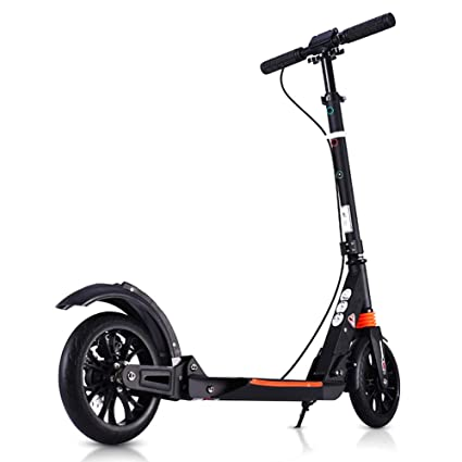 Patinete- Adulto Plegable Kick Scooter Scooter Negro De ...