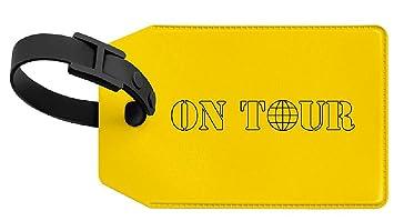 Veloflex 2651310 Kofferanhänger VELOCOLOR Taschenanhänger Gepäckanhänger, mit Adressschild, 70 x 110 mm, gelb