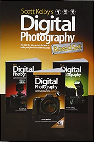 Digital Photography volumes 1, 2, and 3