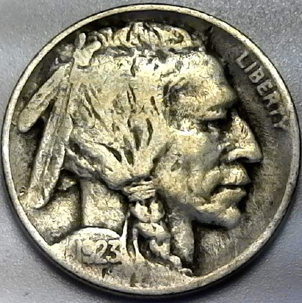 1923 P Buffalo Nickel Very Good