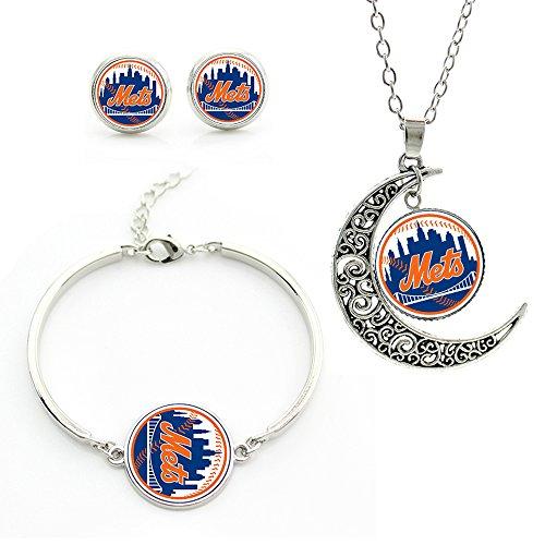 new york mets earrings - 9