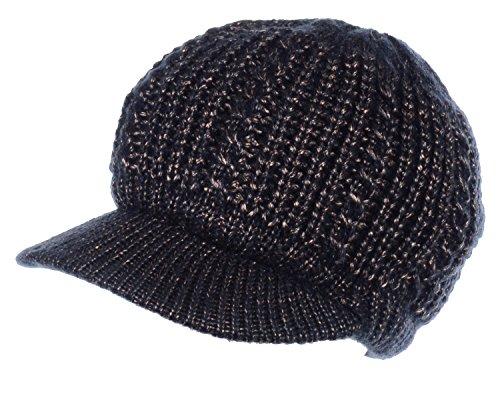 Metallic Wool Hat - 1