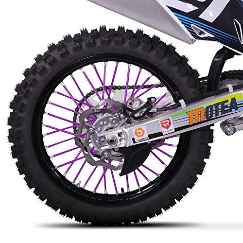 Speichen Cover Yamaha WR 250 X Motea SPX dunkelblau