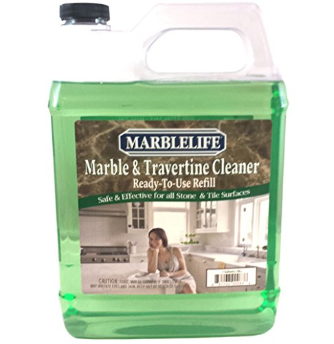 - Marblelife Marble & Travertine Cleaner Ready-To-Use Refill Gallon