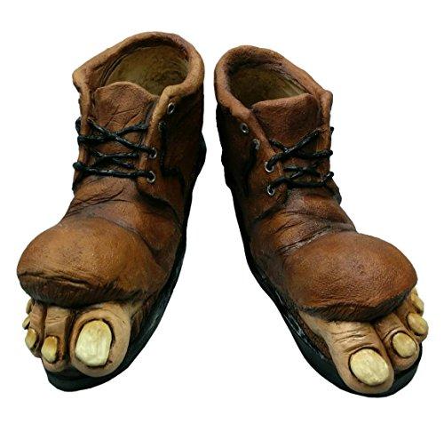 Ghoulish Masks Homeless Boots-Standard -