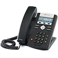 Polycom 2200-12375-001 SoundPoint IP 335 HD Corded VoIP Phone (2 Line PoE) - AC Adapter Included