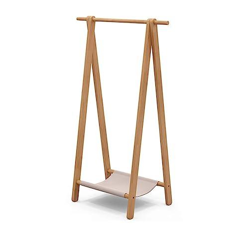 Perchero Vintage de 148 cm Perchero de madera Soporte ...