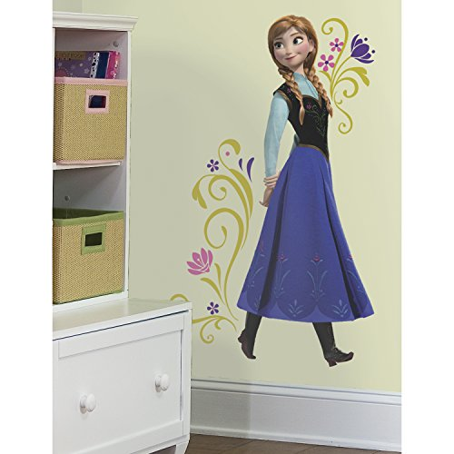 [Roommates Rmk2370Gm Frozen Anna Peel And Stick Giant Wall Decals, 1-Pack] (Anna Costume Ideas)