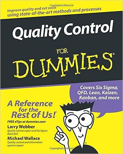 QUALITY CONTROL FOR DUMMIES EPUB DOWNLOAD